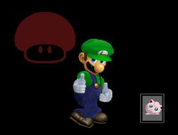 Pose de victoria Luigi Y (3) SSBM