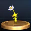 Trofeo de Pikmin amarillo SSBB