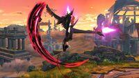 Ataque Aéreo Hacia Arriba Bayonetta SSB Wii U