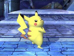 Pose de espera Pikachu SSBB (2)