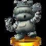 Trofeo Estatua de Porky SSB4 (3DS)