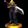 Trofeo de Cloud SSB4 (3DS)