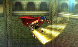 Ataque aéreo normal Ike (1) SSB4 (3DS)