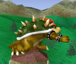Ataque normal de Bowser (2) SSBM