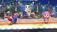 Concierto de Totakeke en Pueblo Smash SSB4 (Wii U)