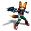 Pegatina Fox Star Fox Assault SSBB