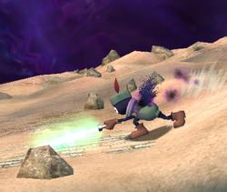 Prímido espadachín atacando (2) ESE SSBB