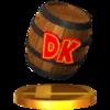 Trofeo de Barril DK SSB4 (3DS)