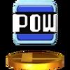 Trofeo de Bloque POW SSB4 (3DS)