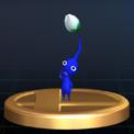Trofeo de Pikmin azul SSBB