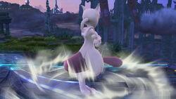 Burla hacia arriba Mewtwo (2) SSB4 (Wii U)