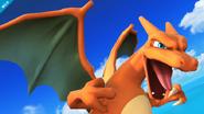 Charizard rugiendo SSB4 (Wii U)