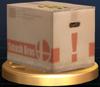Trofeo de Caja de cartón SSBB