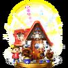 Trofeo de La casa de mis sueños SSB4 (Wii U)