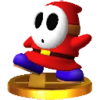Trofeo de Shy Guy SSB4 (3DS)