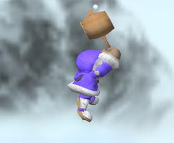 Ataque aéreo hacia adelante de Ice Climbers (1) SSBM