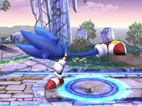Ataque normal Sonic SSBB (3)