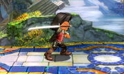 Burla lateral Espadachín Mii SSB4 (3DS) (1)