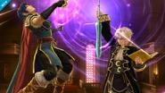 Daraen y Marth SSB4 (Wii U)