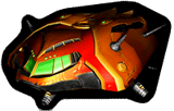 Pegatina Nave Espacial (Metroid Prime Hunters) SSBB