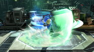 Toque final Cloud (2) SSB4 (Wii U)