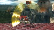 Ataque Smash superior de Ike (2) SSB4 (Wii U)