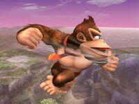 Ataque aéreo normal Donkey Kong SSBB