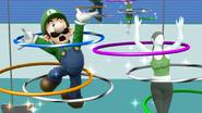 Créditos Modo Senda del guerrero Luigi SSB4 (Wii U)