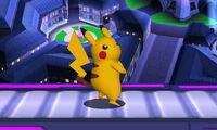 Pose de espera Pikachu (1) SSB4 (3DS)