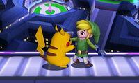 Agarre Pikachu SSB4 (3DS)