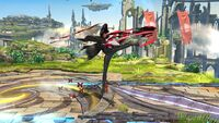 Ataque Fuerte Lateral Bayonetta (2) SSB Wii U