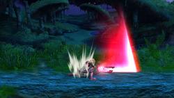 Ataque en caída (2) SSB4 (Wii U)