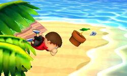 Ataque en carrera Aldeano (1) SSB4 (3DS)