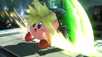 Cloud-Kirby 2 SSB4 (Wii U)