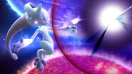 Comienzo del Smash Final de Mewtwo en Destino Final SSB4 (Wii U)