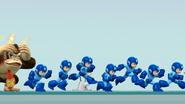 Créditos Modo Leyendas de la lucha Mega Man SSB4 (Wii U)