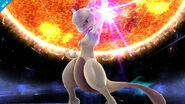 Mewtwo en Destino Final SSB4 (Wii U)