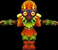 Pose T Skull Kid SSB4 (Wii U)