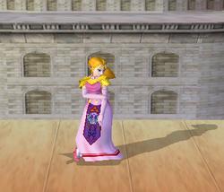 Pose de espera de Zelda (2-1) SSBM
