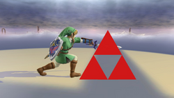 Pose de victoria de Link (2-1) SSB4 (Wii U)