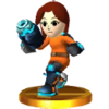 Trofeo de Tirador Mii SSB4 (3DS)
