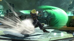 Ataque Smash lateral Cloud (2) SSB4 (Wii U)