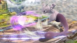 Ataque fuerte hacia abajo Mewtwo SSB4 (Wii U)