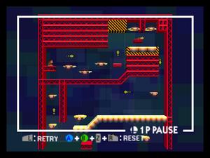 Board the Platforms de Donkey Kong SSB