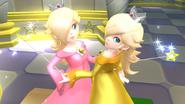 Créditos Modo Senda del guerrero Estela y Destello SSB4 (Wii U)