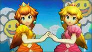 Créditos Modo Senda del guerrero Peach SSB4 (3DS)