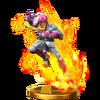 Trofeo de Captain Falcon (Alt) SSB4 WiiU