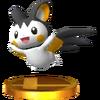 Trofeo de Emolga SSB4 (3DS)