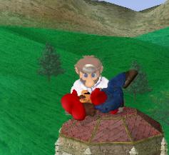 Lanzamiento hacia arriba de Dr. Mario (1) SSBM