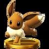 Trofeo de Eevee SSB4 (Wii U)